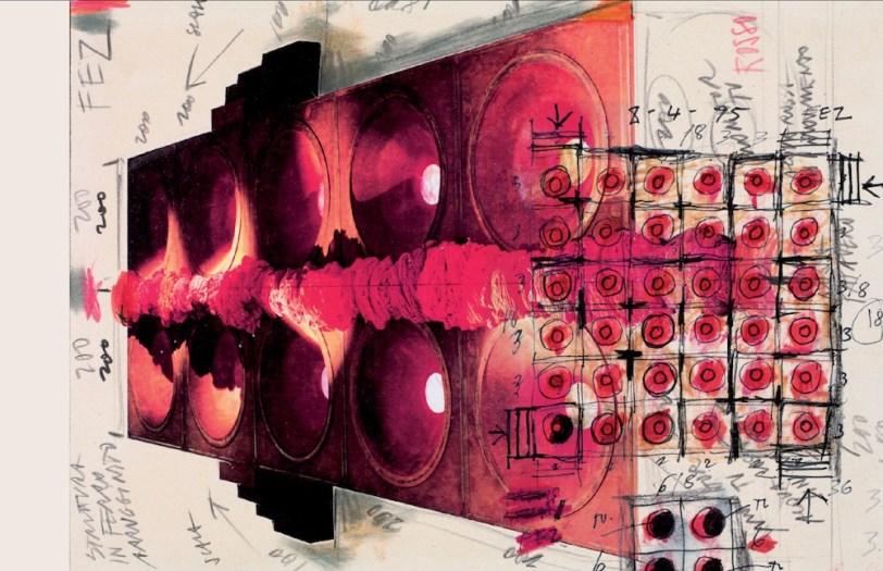 Fabrizio Plessi, disegni di progetto