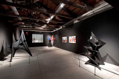 Alexander Calder, veduta allestimento Frammenti Expo '67, Venezia