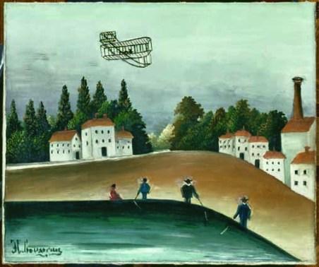 Henri Rousseau Les Pêcheurs à la ligne/ Pescatori con lenza 1908 ‐ 1909 olio su tela, cm 46 x 55 Parigi, Musée de l'Orangerie, Collection J. Walter‐ P. Guillaume © RMN‐Grand Palais (Musée d'Orsay)/Hervé Lewandowski