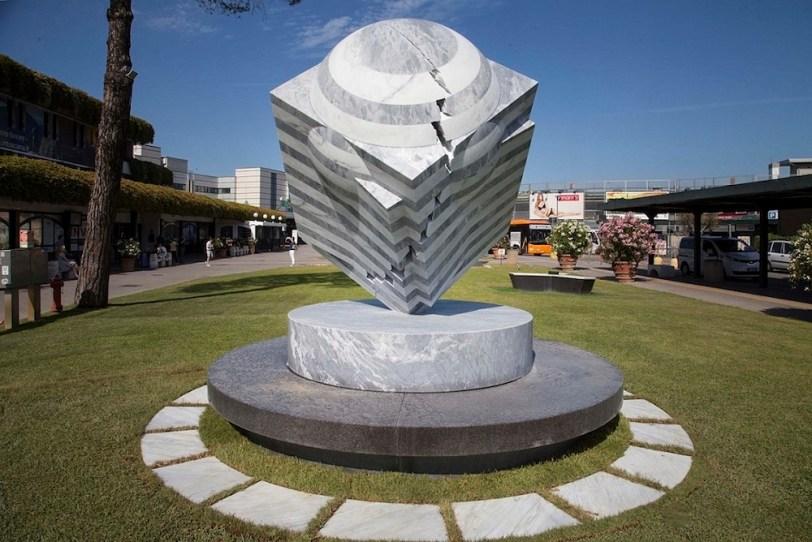 Park Eun Sun. VolareArte III edizione, 2015-2017, veduta, Aeroporto Galileo Galilei, Pisa