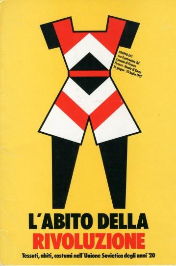 Massimo Dolcini, L'abito della rivoluzione, 1987
