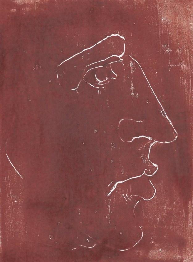Sasha Vinci, Lilith Adam, 2002-15, tecnica mista su carta, 18x24 cm