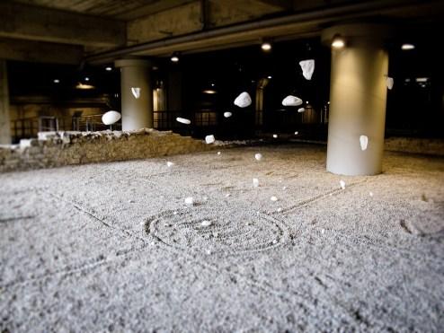 Tamara Ferioli, Come in cielo cosç in terra, installazione site specific