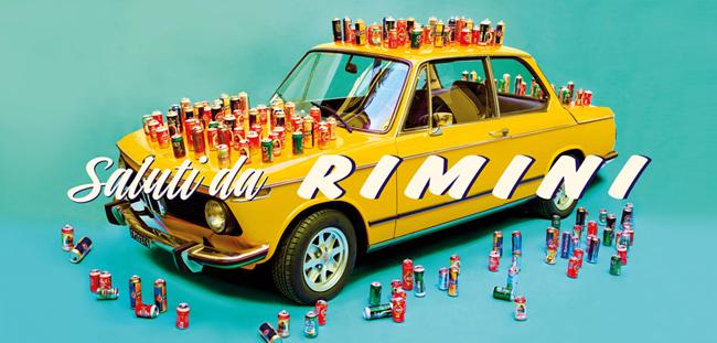 Saluti da Rimini. © Toilet Paper, Maurizio Cattelan + Pierpaolo Ferrari