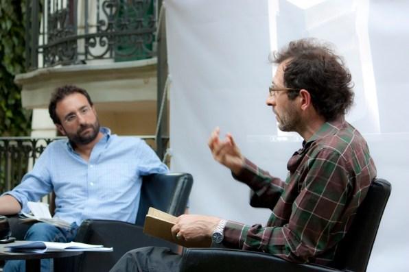 Davide Ferri e Italo Zuffi. Foto di Francesco Basileo