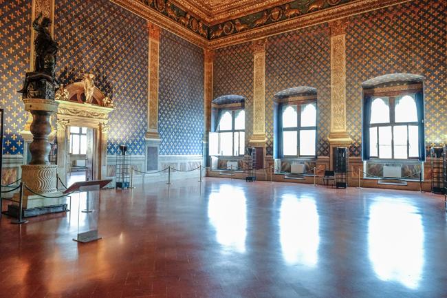 Sala Dei Gigli del Palazzo della Signoria, Firenze