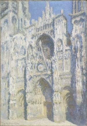 Claude Monet, La cathédrale de Rouen. Le portail et la tour Saint-Romain, plein soleil, 1893, olio su tela, 107x73.5 cm; inv. RF 2002 20 (i.d 42) Monet 20. Paris, Musée d'Orsay © RMN-Grand Palais (Musée d'Orsay) / Patrice Schmidt