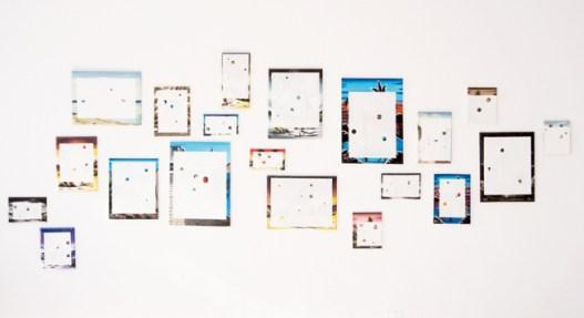 Farah Khelil, Point of view, listening point (Clichés I), 2011-2014 (installation view)