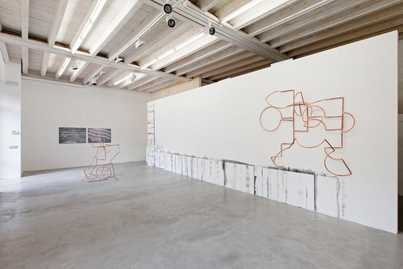 2501. Negative Space, veduta della mostra, Maurizio Caldirola Arte Contemporanea, Monza © BlindEyeFactory