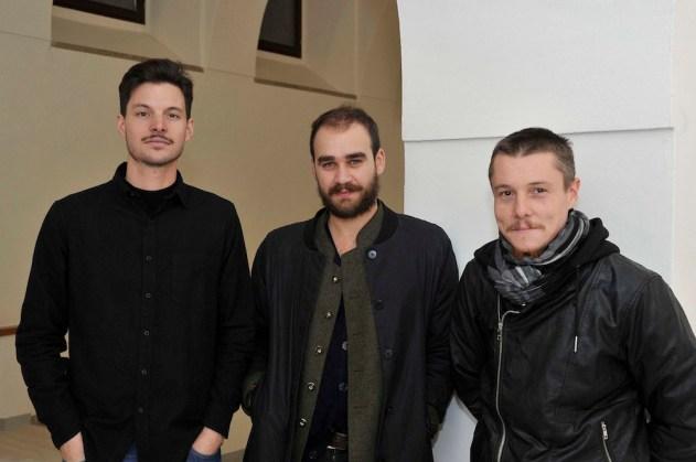 Giacomo Raffaelli, Alessandro Di Pietro e Alberto Tadiello Foto Roberto Bernardinatti - Archivio Università di Trento