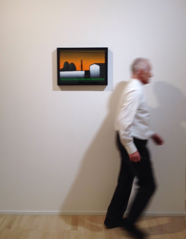 Tino Stefanoni, veduta della mostra, Galleria Seno, Milano