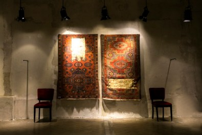 Tempo e Tempio di Mahmoud Saleh Mohammadi, veduta della mostra, Circolo Marras, Milano. Foto: Morgan Quere