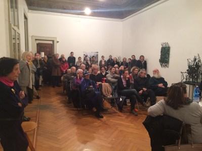 Alik Cavaliere, Taccuini 1960-1969, presentazione del volume, Galleria Milano, Milano 10 febbraio 2016 (pubblico)