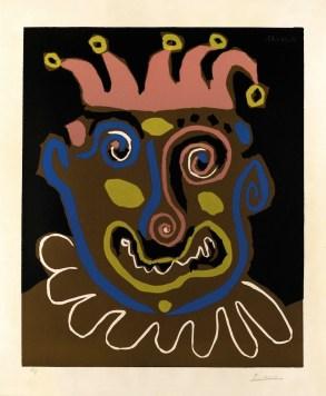 Pablo Picasso, Le vieux roi, 1963