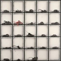 Emilio Scanavino, Alfabeto senza fine, 1974 , olio su tela, cm 150x150