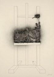 Emilio Scanavino, Come l'edera, 1980, olio su tela, cm 200x140
