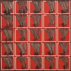 Emilio Scanavino, Le frange, 1974, olio su tela, cm 150x150