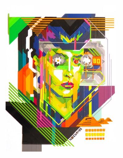 Affordable Art Fair 2016, NO CURVES, MEMORIES OF GREEN