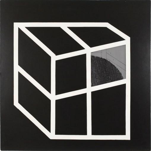 Emilio Scanavino, Nascosto 1, 1968, tecnica mista, 150x150 cm