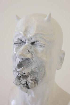 Bernardì Roig, Senza Titolo, 2016, resina e polvere di marmo, dimensioni reali Courtesy of Maurizio Caldirola Arte Contemporanea Photo Bruno Bani