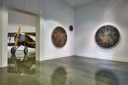 Pietro Ruffo. Breve storia del resto del mondo, allestimento della mostra, Fondazione Puglisi Cosentino, Catania Foto G. D'Aguanno