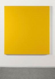 Sonia Costantini, Giallo cadmio chiaro, 2011, acrilico e olio su tela, 155x145 cm
