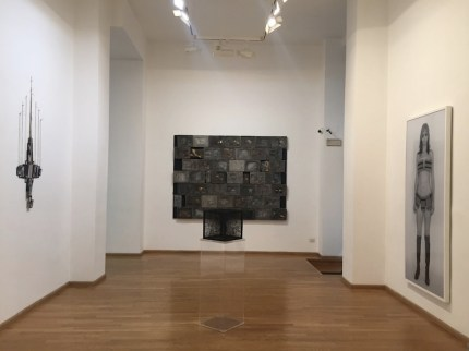 La sfida di aracne. Riflessioni sul femminile dagli Anni '70 a oggi, veduta della mostra, Nuova Galleria Morone, Milano