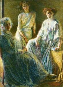 Umberto Boccioni, Tre donne, 1909-1910, olio su tela, 170×124 cm, Milano, Collezione Intesa Sanpaolo, Gallerie d'Italia – Piazza Scala