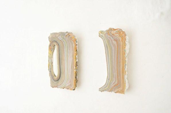 Diego Soldà, Archivio (2, 3), 2016, tempera a strati su legno