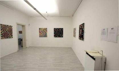 Davide Nido. Persistenze mutevoli, veduta della mostra, Galleria Blu, Milano Courtesy della galleria