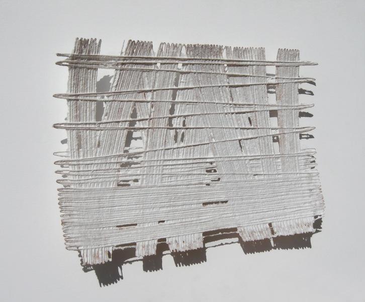 Antonella Zazzera, C/S B 52-01, 2010, cellulosa e fili di rame, 60×40.5 cm Foto di Antonella Zazzera