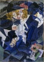 Gino Severini, Ritratto di Madame M.S., 1913-15, Mart, Museo di arte moderna e contemporanea di Trento e Rovereto