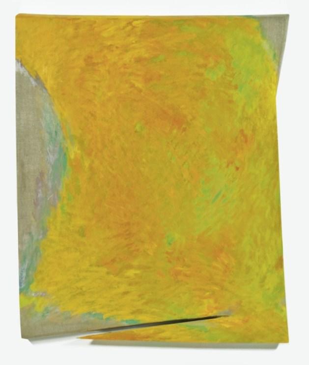 Tetsuro Shimizu, Afflato T-17, 2016, olio su tela, 120 x 100 cm Courtesy l'artista e Paraventi Giapponesi – Galleria Nobili, Milano