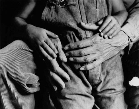 Dorothea Lange, Hands, Maynard and Dan Dixon, 1930 ca.