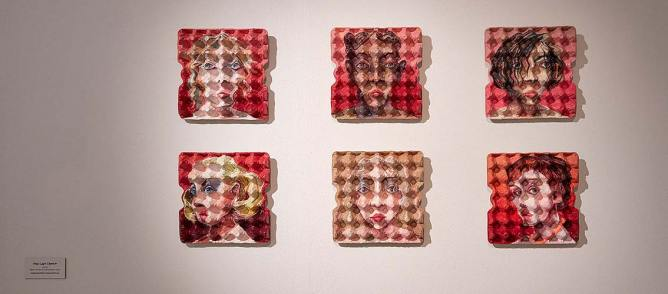 Eggcubism. L'arte a due dimensioni e mezzo, veduta della mostra, © Fondazione Culturale Hermann Geiger