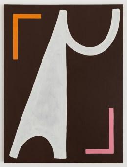 Ulrike Müller, Béla, 2015, olio su tela, 91,4 x 68,6 cm. Courtesy of the artist and Callicoon Fine Arts, New York © the artist