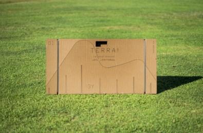 """Terra!""""   flatpack laser cut cardboard"""