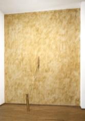 Hidetoshi Nagasawa , Albero di Leda, Varco nel Tempo, 1988, ottone e cera vergine, dimensioni variabili. Foto: Studio Vandrasch