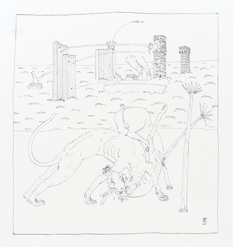 Ettore Tripodi, Diario di un naufrago 8 Courtesy Studio d'Arte Cannaviello, Milano