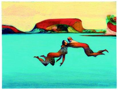 Nell'acqua, © Lorenzo Mattotti (2001)