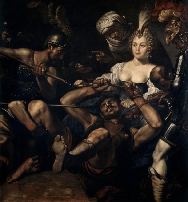 Louis Finson, Sansone e Dalila, 1600-17, olio su tela, 155x149 cm, Musée des Beaux-Arts, Marsiglia