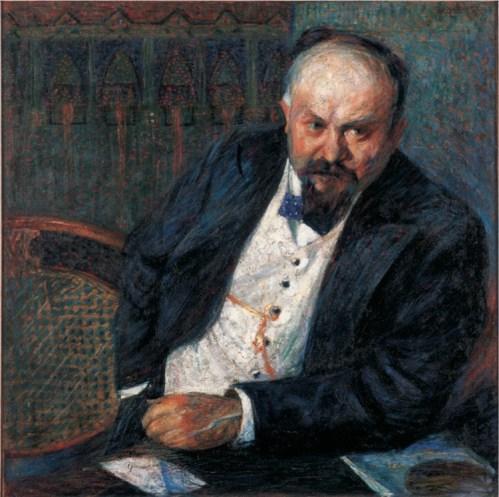 Umberto Boccioni, Ritratto di Achille Tian, 1907, Verona, Fondazione Domus per l'arte moderna e contemporanea