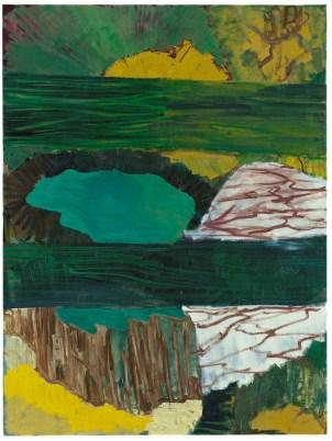 Per Kirkeby, Verkostung, 1999, olio su tela, 200x150 cm Courtesy Galerie Michael Werner, Berlino