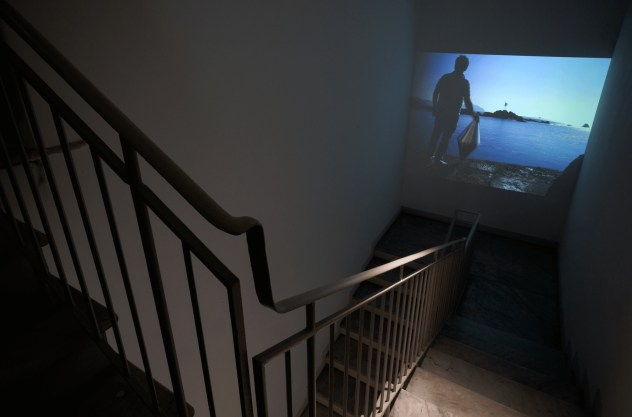 Matteo Negri, Piano Piano ABC-ARTE Genova, installation view, Navigator video
