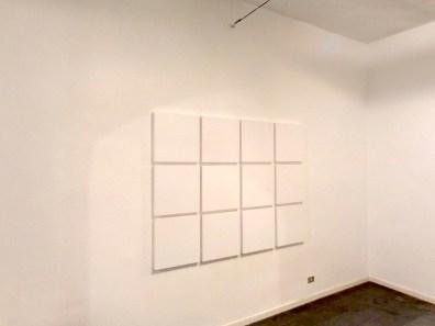 Pittura di colore. Renate Balda, Sonia Costantini, Inge Dick, veduta della mostra (Inge Dick), Galleria il Milione, Milano