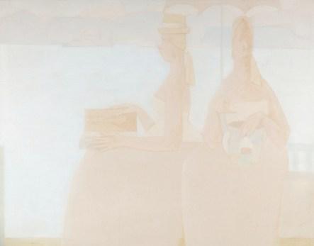 Antonio Calderara, Pittura, 1957-58, olio su tavola, 40x51 cm, Sammlung Alfred Richterich Foto Serge Hasenböhler