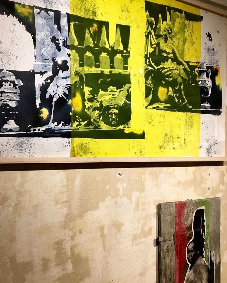 Nicola Villa. L'incognita dell'approdo, veduta della mostra, Spazio Lomellini 17, Genova