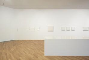 Antonio Calderara. Una luce senza ombre, veduta dell'allestimento, LAC Lugano Arte e Cultura, MASI Lugano, Lugano (Svizzera) © LAC Foto Studio Pagi