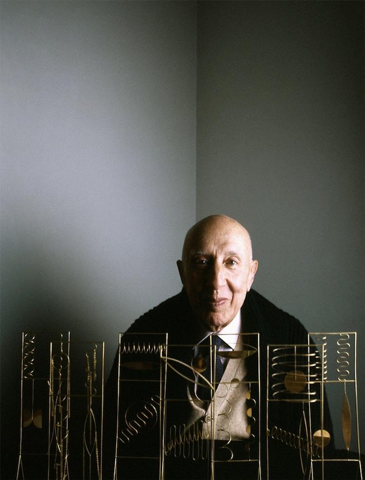 Fausto Melotti, 1983 ©Toni Thorimbert. Courtesy Montrasio Arte
