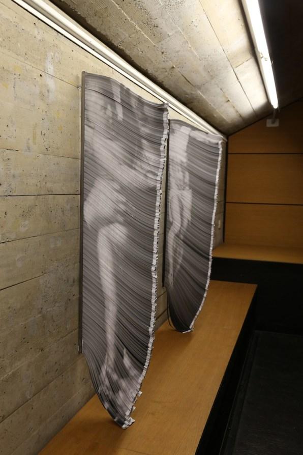 """Giorgio Tentolini. Iconoclastie, veduta della mostra (serie """"Vulnerabili""""), Spazio Aperto San Fedele, Galleria San Fedele, Milano"""